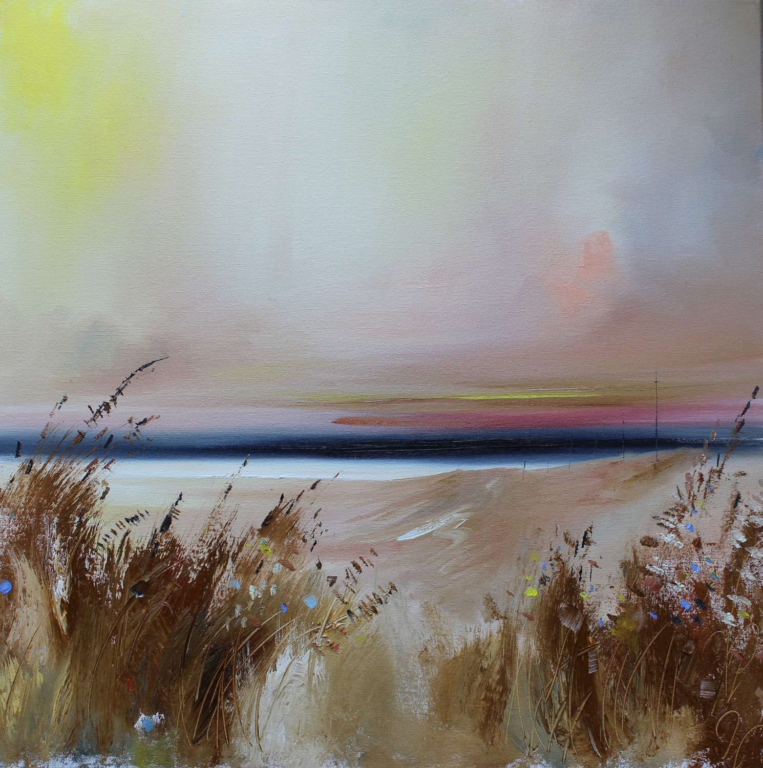 'In the Summertime' by artist Rosanne Barr
